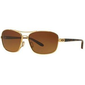 Oakley Square Sunglasses Brown Grad Polarized Lens